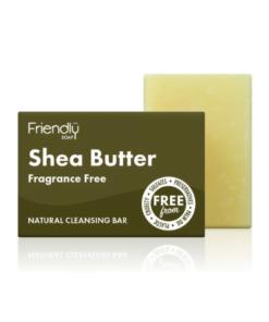 """FRIENDLY SOAP natūralus rankų darbo veido muilas su taukmedžiu """"Shea Butter"""