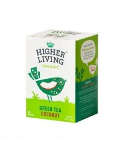 Higher Living ekologiška žalioji arbata