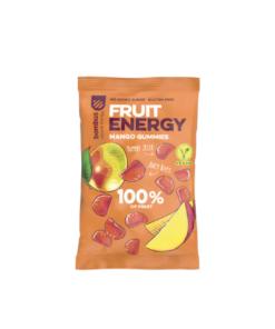 mangų skonio natūralūs guminukai saldainiai