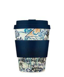 Ecoffee cup daugkartinis medžio pluošto puodelis Vincent Van Gogh