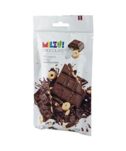 MILZU juodasis šokoladas su rugių žiedeliais
