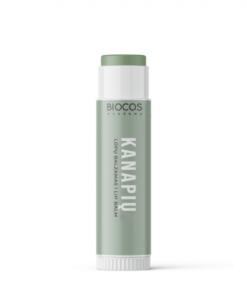 Biocos natūralus lūpų balzamas kanapių